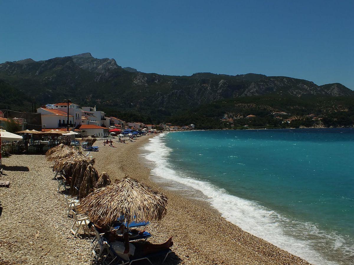 Kokkari Plajı