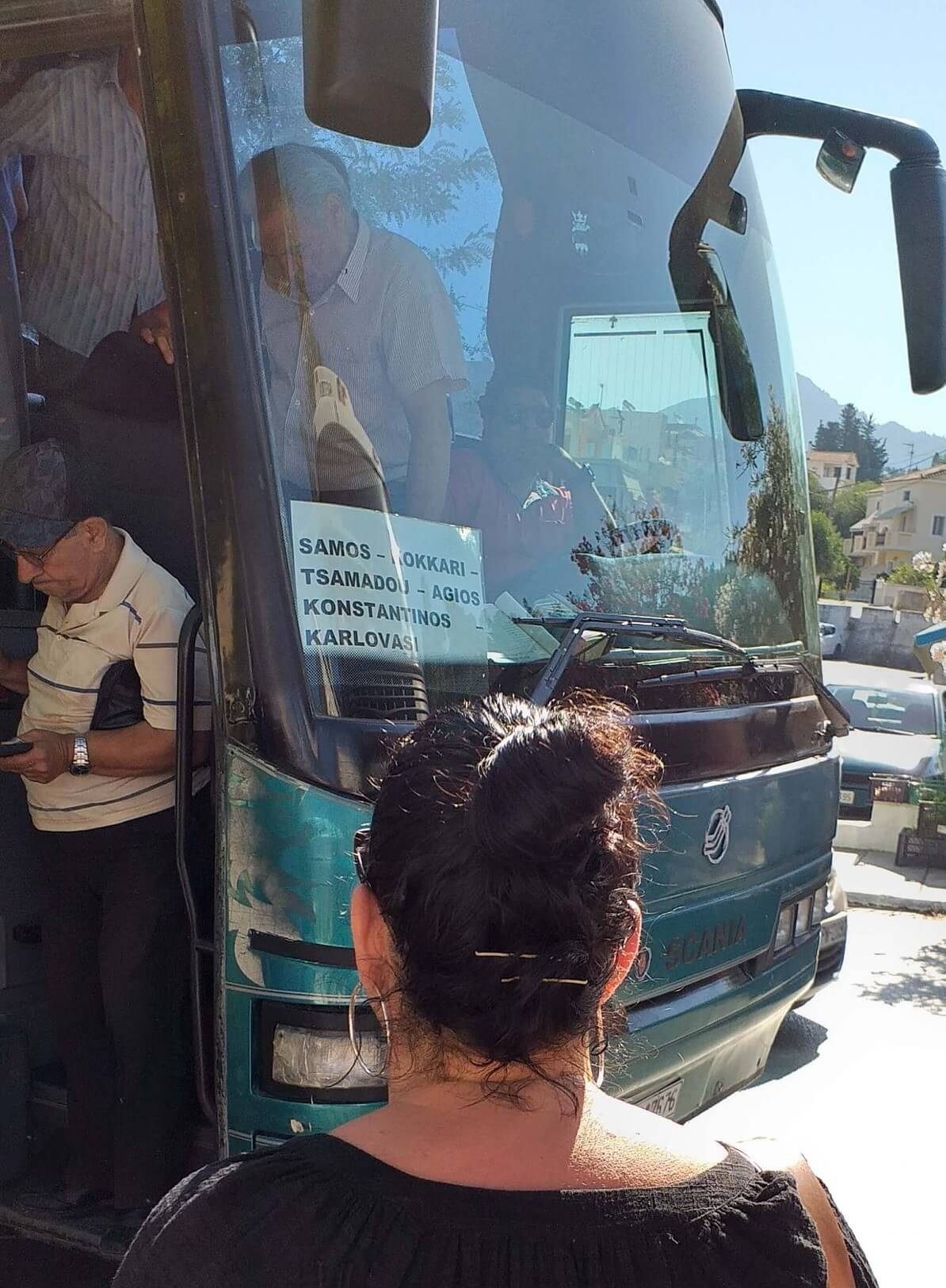 Karlovasi Kokkari Vathy KTEL Otobüsleri