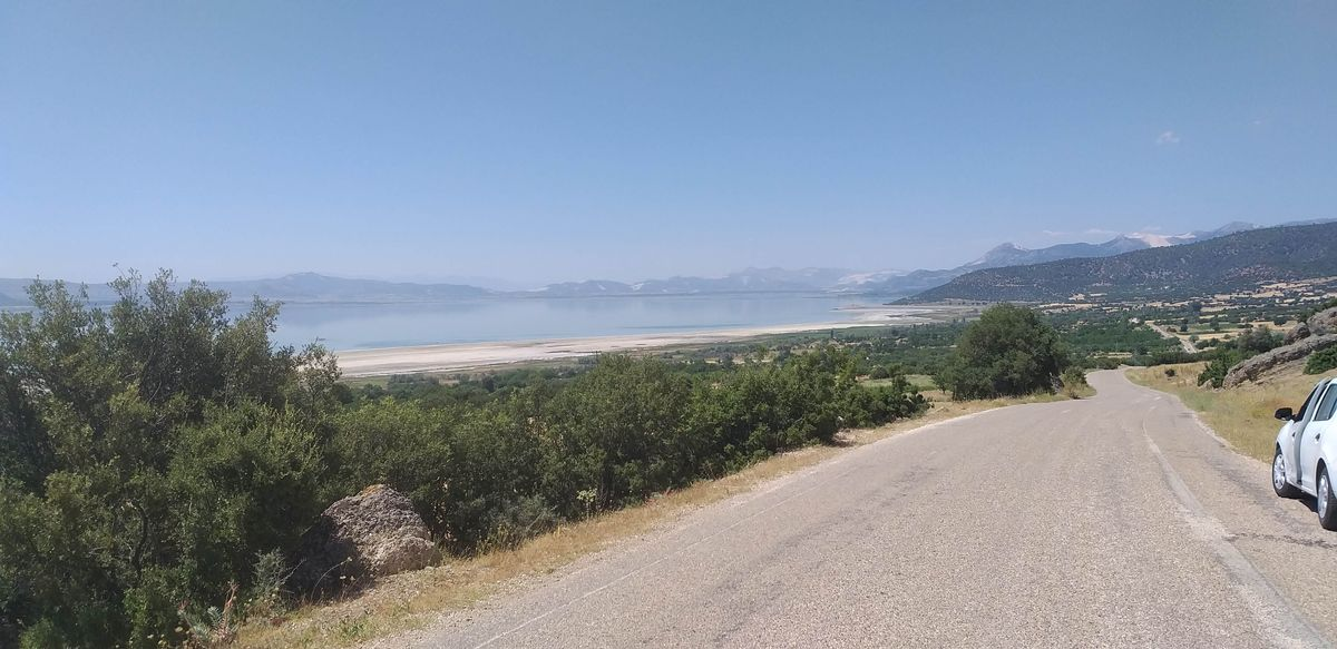 Pamukkale'ye Ulaşım Burdur Gölü