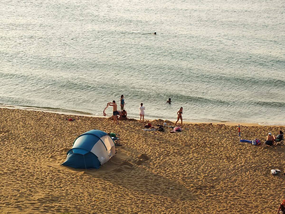 Sinop Plajları Kumkapı Plajı