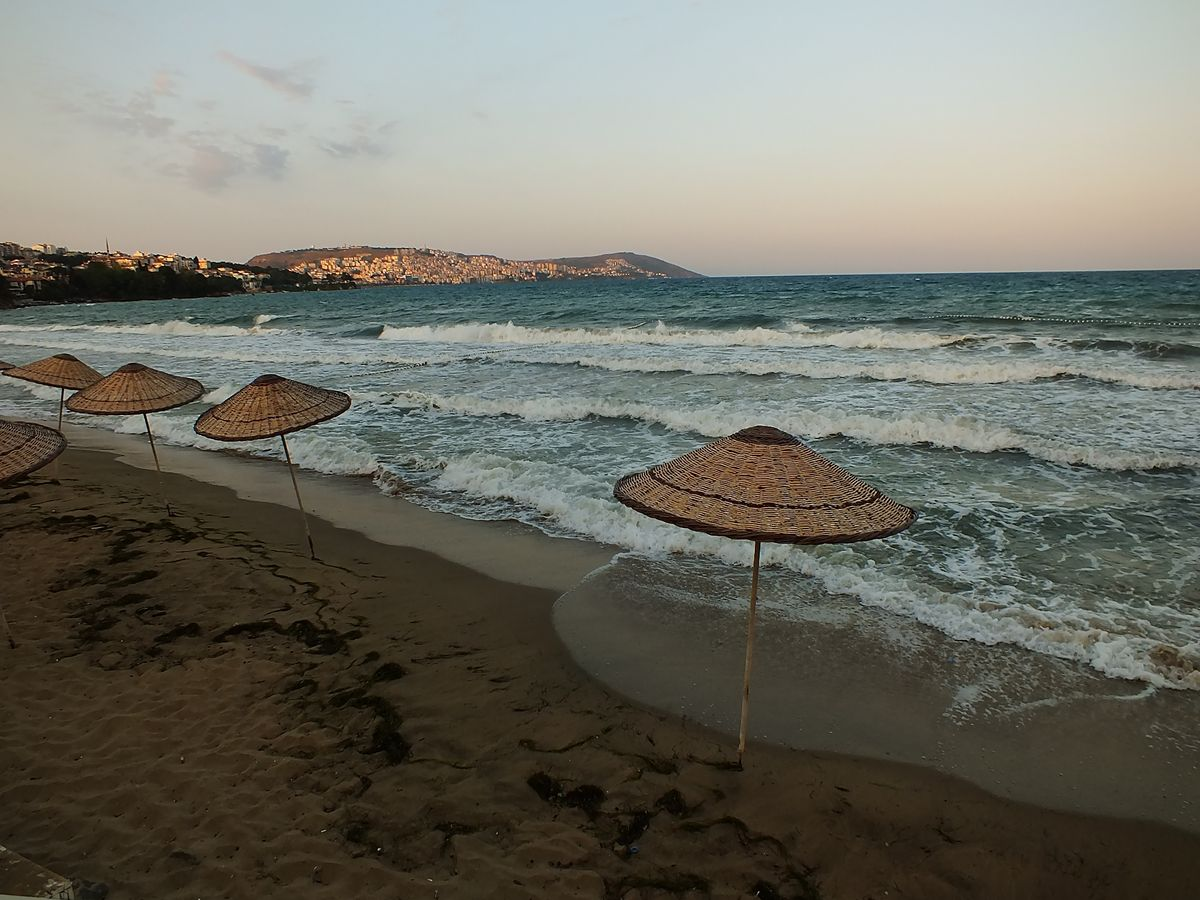 Sinop Plajları Mobil Plajı