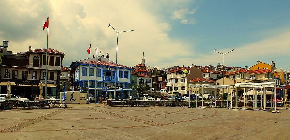 Tirilye Atatürk Meydanı