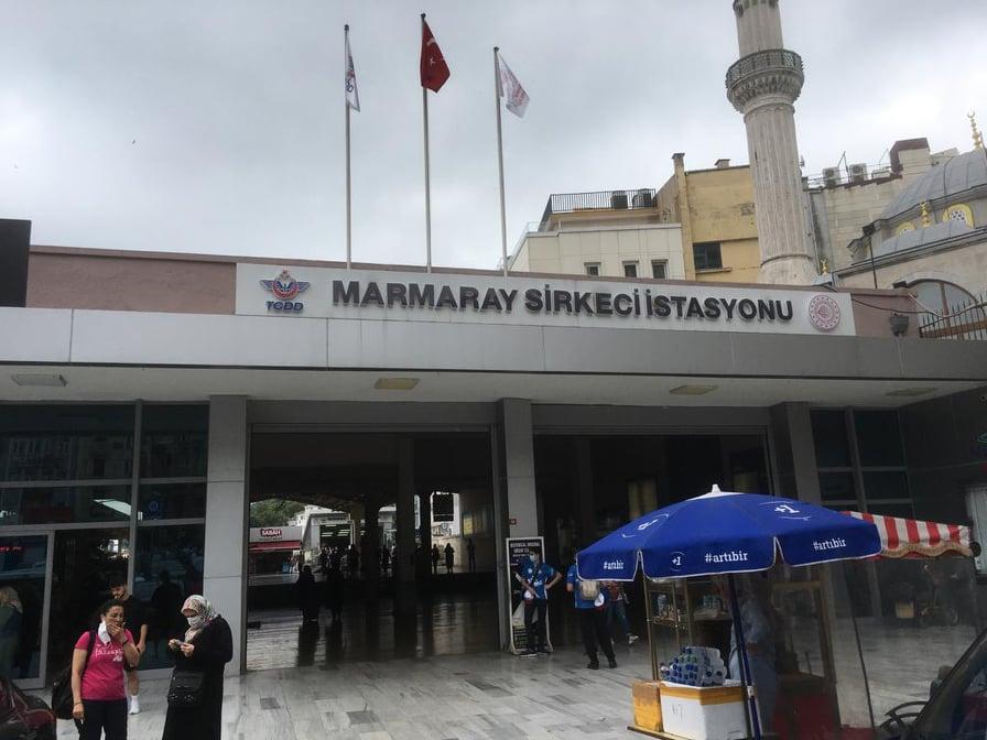 Marmaray Sirkeci İstasyonu