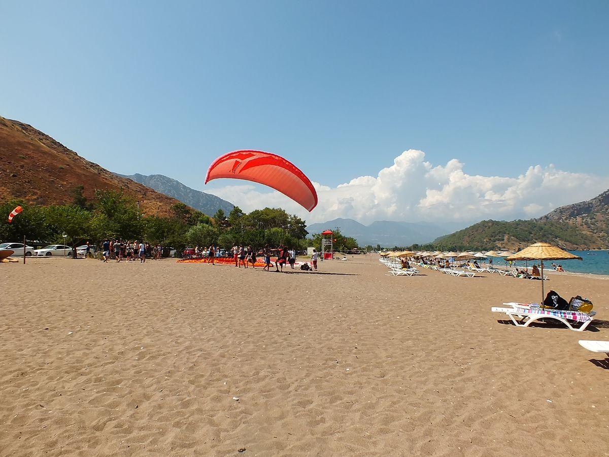 Adrasan Plajı Paragliding